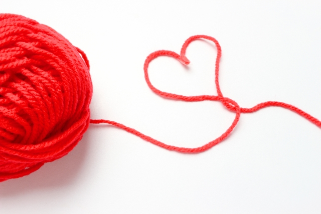 赤い糸 ハート